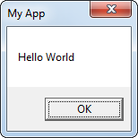 Hello World with custom title