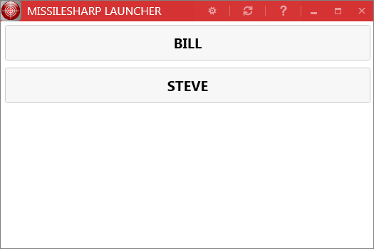 MissileSharp Launcher screenshot